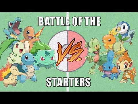 Battle of the Starters #1 - Pokémon Battle Revolution (1080p 60fps)