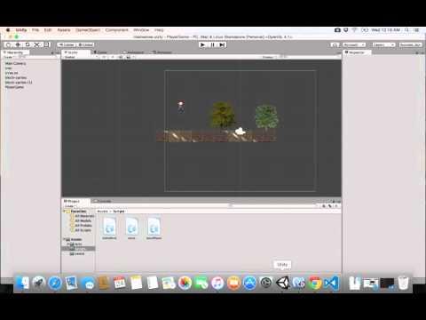 9- Unity 2D||  move player تحريك الاعب