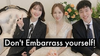 5 TIPS FOREIGNERS MUST KNOW about KOREAN WEDDINGS + Wedding VLog