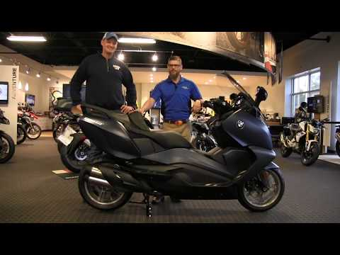 2018 BMW C650GT Premium in Ocean Blue Metallic Delivery @ Frontline Eurosports by Nate