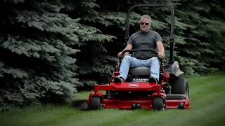 Comfortable Driving Mower: Toro Z Master