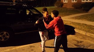 CONFRONTING A NBA 2K19 TRASH TALKER FACE TO FACE ! Fight? LEARNED LESSON