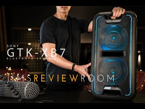 Sony GTK XB7 – BIGGEST BLUETOOTH SPEAKER EVER! – REVIEW