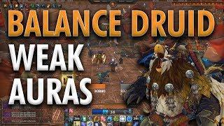 BFA BALANCE DRUID UI  WEAK AURAS | DOWNLOAD IN DESCRIPTION!!