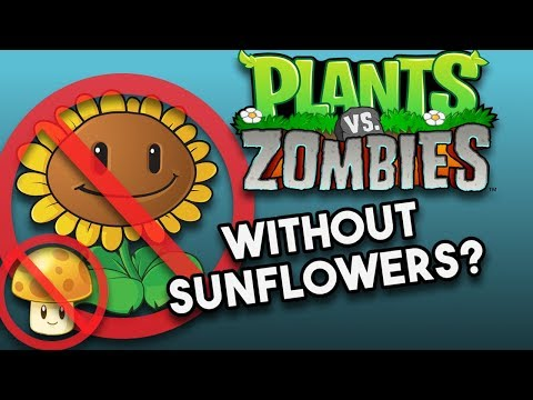 Is it Possible to Beat Plants Vs. Zombies Without Sunflowers? (No Sunflower Challenge)