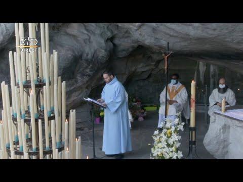 Messe de 10h à Lourdes du 22 avril 2021