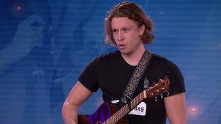 Fredrik Stenberg - When you love someone av James TW (hela Idol-audition 2017) - Idol Sverige (TV4)