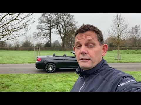 BMW M4 Convertible with Competition Pack Video