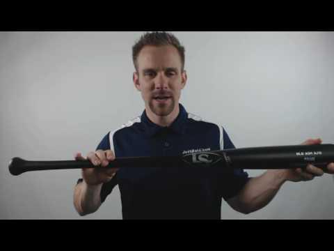 2017 Louisville Slugger MLB Prime Jones Game AJ10 Ash Wood Baseball Bat: WTLWPAAJ1GM6 Adult