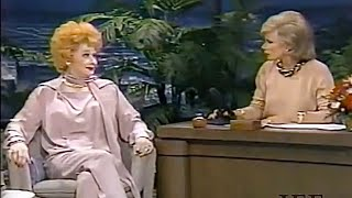 Lucille Ball And Joan Rivers, 1985