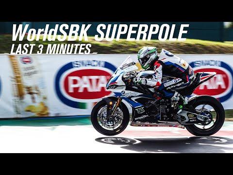 スーパーバイク世界選手権 第7戦フランス(マニクール・サーキット)スーパーポールのラスト3分をまとめたハイライト動画