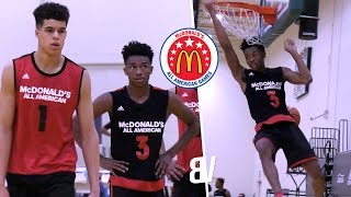 McDonalds All-American Day 1 Practice BEST Highlights - Jaylen Hands Michael Porter & More SHOW OUT!