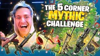 THE 5 CORNER *ALL MYTHIC* CHALLENGE! W/ @TimTheTatman @CouRage & @SypherPK