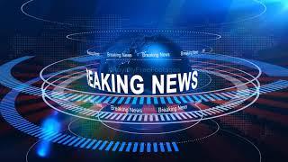 breaking news intro video   TV breaking news intro broadcast video, breaking news opening video clip