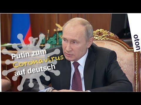 Putin zum Coronavirus auf deutsch [Video]