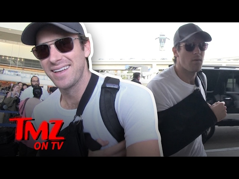 Armie Hammer – Sex With A Peach In His New Movie!? | TMZ TV