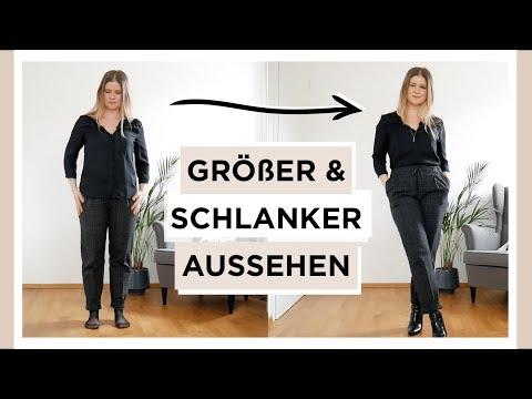 Größer & schlanker aussehen - Petite Outfit & Style Tipps | Das weiße Reh