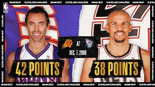 Suns @ Nets: Steve Nash and Jason Kidd duel in 2OT thriller on December 7, 2006 #NBATogetherLive