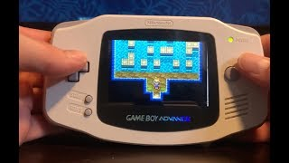 Upgrading A GBA To A Backlit AGS 101 Screen