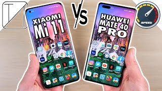 Xiaomi Mi 11 vs Huawei Mate 40 Pro Speed Test