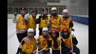 Industrial engineering team wins broomball championship