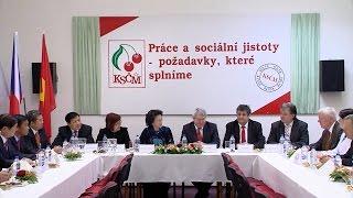 Chủ tịch Quốc hội Nguyễn Thị Kim Ngân gặp Chủ tịch Đảng Cộng sản Séc - Morava