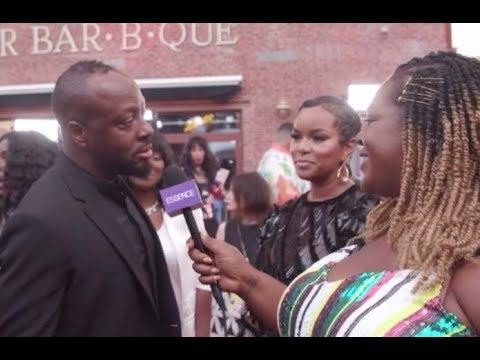 LeToya Luckett & Wyclef Jean Reunite @ the VMA's Red Carpet 2019