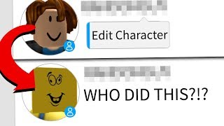CHANGING PEOPLE'S ROBLOX CHARACTERS