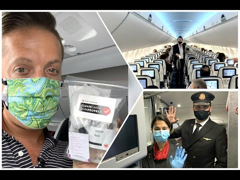 Flying with Air Canada during the COVID-19 pandemic