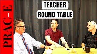 TEACHER ROUND TABLE EP. #001 - Teacher Burnout