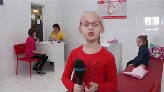Киндерленд в Кемерове и Школа тележурналистики на съемках сюжета