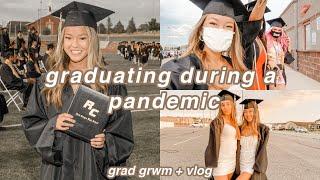 HIGH SCHOOL GRADUATION GRWM + VLOG (a Month Late Lol)