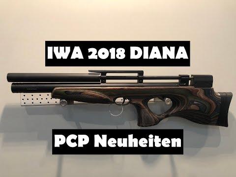 IWA 2018 - #Diana #PCP #Luftgewehre Neuheiten