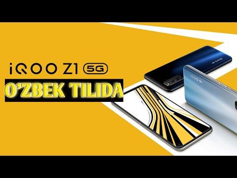 VIVO IQOO Z1 5G - O'ZBEK TILIDA //BIRDANIGA IKKI SIMKARTANI 5G DA ISHLATUVCHI O'YINBOP SMARTFON !!!