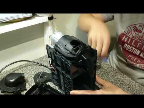 Разборка и ремонт кофемашины Nespresso NX260