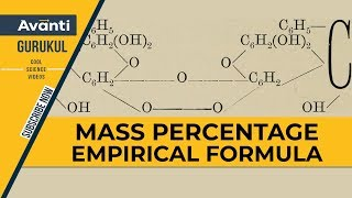 Mass Percentage Empirical Formula | Basic Concepts Of Chemistry | Chemistry | IIT JEE | Class 11