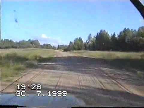 Кочевка пасеки  на севера 1999