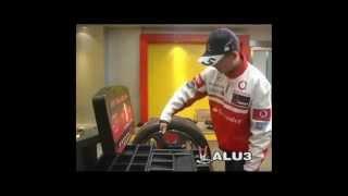 Балансировочный станок для грузовых колес Bright CB460B от компании Karcher и Nilfisk Alto - видео