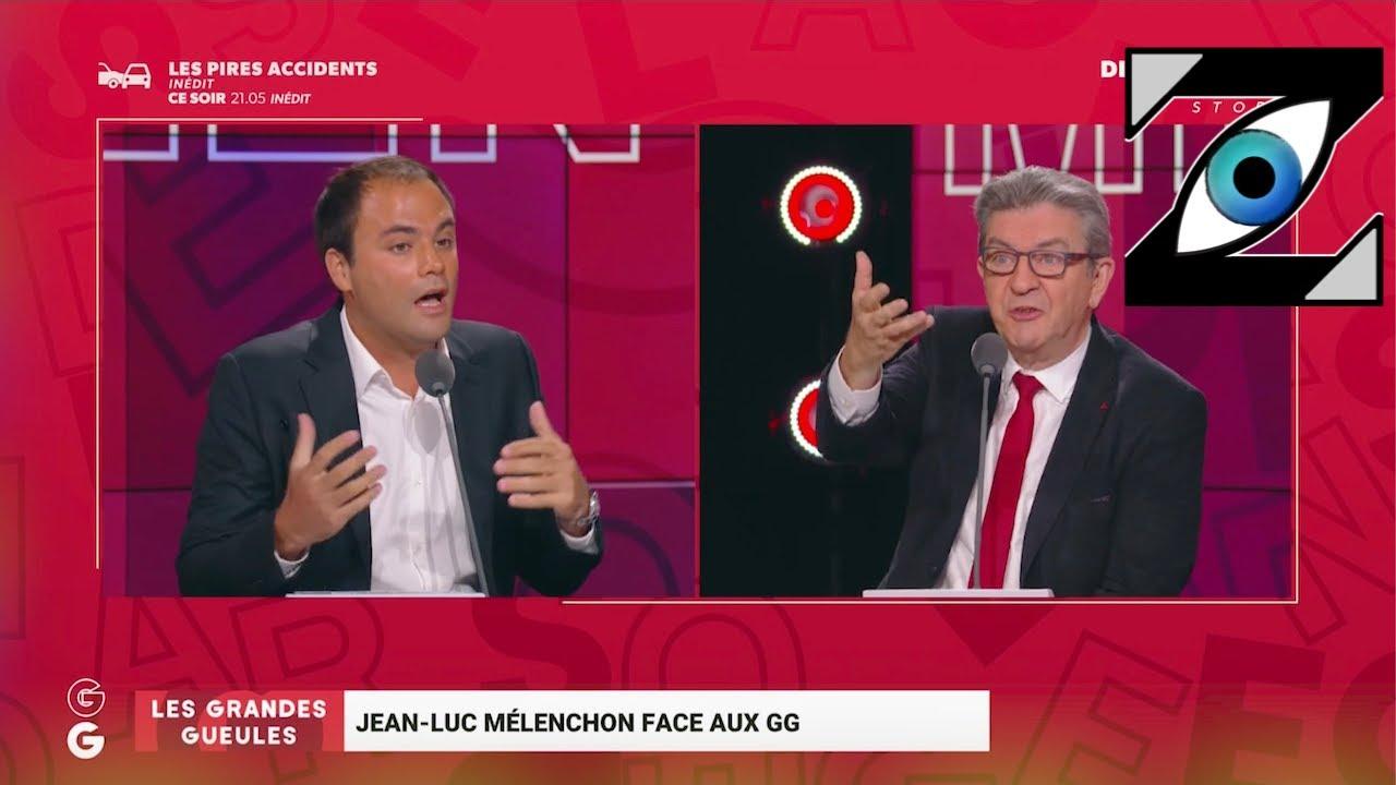 [Zap Télé] Ambiance électrique entre C. Consigny et J-L. Mélenchon sur le plateau des GG (14/09/21)