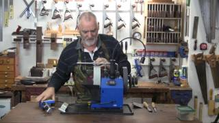 Carving Chisel Honing On A T7 Tormek