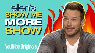 Chris Pratt Takes On Ellen's Burning Questions