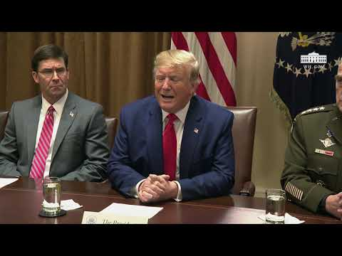 Remarks: Donald Trump Attends a Briefing With Senior Military Leaders - October 7, 2019