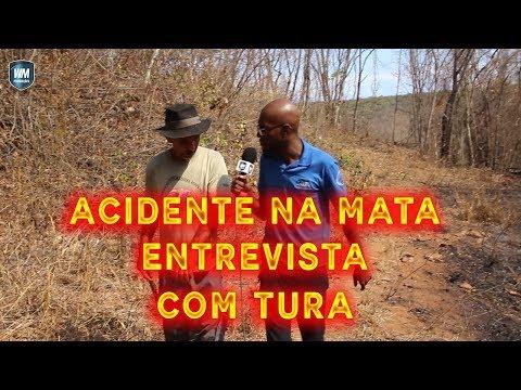 ENTREVISTA COM TURA- Incêndio em Acauã- distrito de Leme do Prado