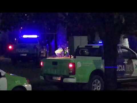 Video. Se armó la rosca en la fiesta boliviana. Interviene la policía. Un herido