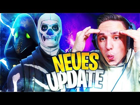 SKULL TROOPER Ist Zurück!!!🔥 NEUES FORTNITE UPDATE! | Fortnite Battle Royale Deutsch