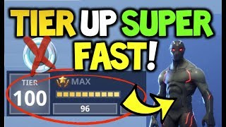 How to TIER / RANK UP SUPER FAST in Fortnite Season 4 - *Zero V-BUCKS Required!* Battle Royale
