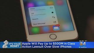 Apple Settles Class Action Lawsuit