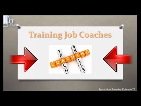 Job coach training in special education Episode 75 of Transition ...