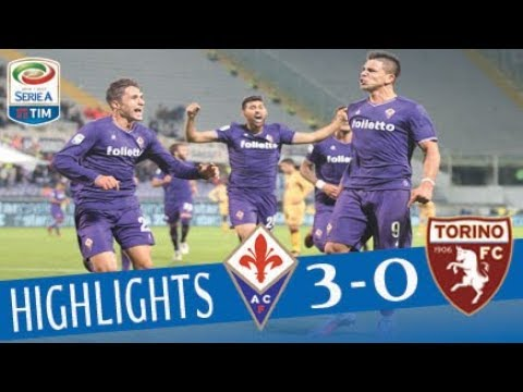 Fiorentina - Torino 3-0 - Highlights - Giornata 10 - Serie A TIM 2017/18