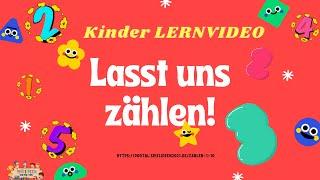Lasst uns zählen🤗! – Lernvideo für Kinder